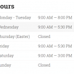 Hours example