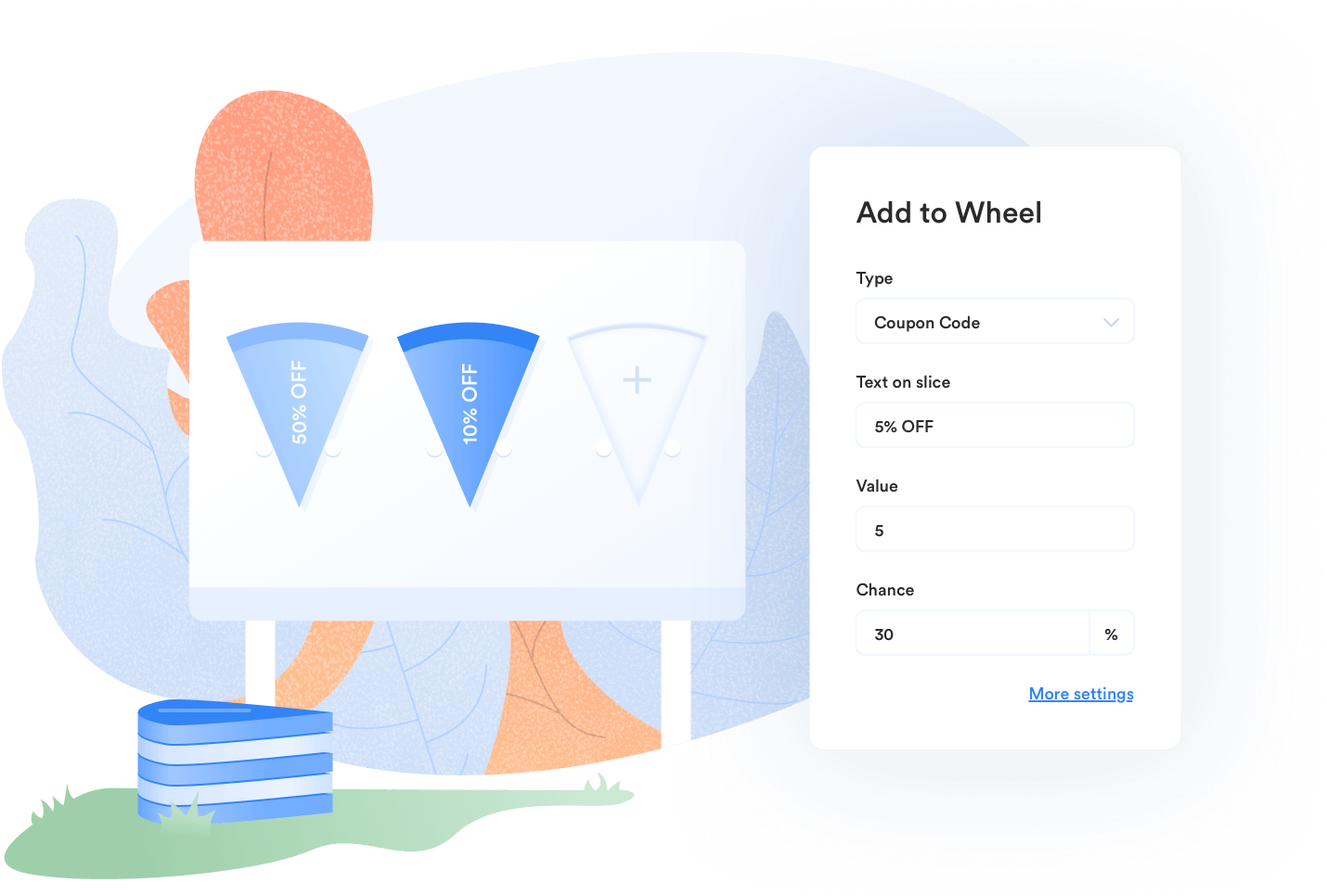 Customize each slice in WP Optin Wheel