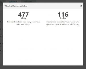 wheel statistics