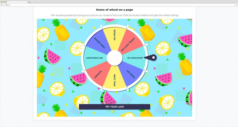 WP Optin Wheel - gamified opt-in popup for WordPress websites