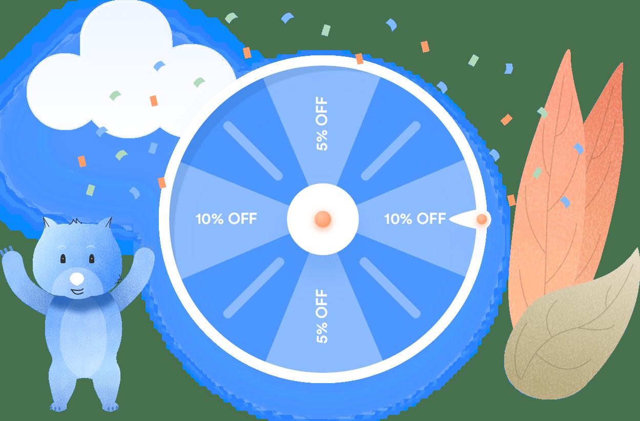 WP Optin Wheel Illustration