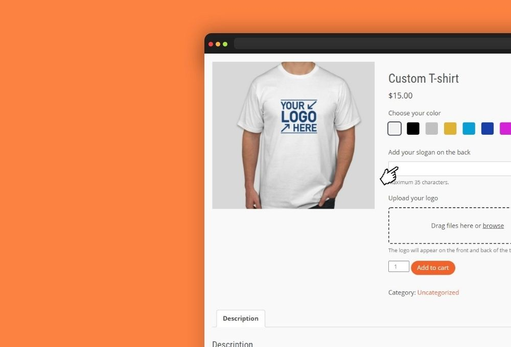 woocommerce add text field to product
